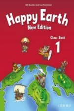 Happy Earth 1 (New Edition) Class Book