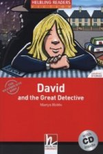 David and the Great Detective, w. Audio-CD