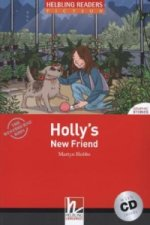 HELBLING READERS Red Series Level 1 Holly's New Friend + Audio CD ( Martyn Hobbs)