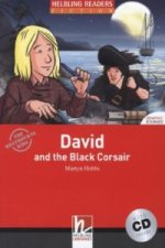 David and the Black Corsair, w. Audio-CD