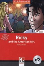 HELBLING READERS Red Series Level 3 Ricky and the American Girl + Audio CD (Martyn Hobbs)