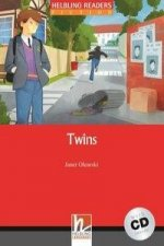 HELBLING READERS Red Series Level 3 Twins + Audio CD (Janet Olearsky)