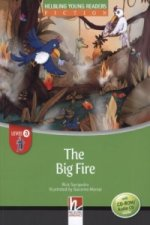 The Big Fire, w. Audio-CD/CD-ROM