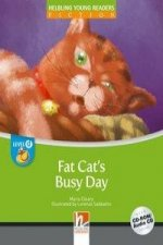 HELBLING Young Readers D Fat Cat's Busy Day + CD/CD-ROM (Maria Cleary)