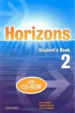 HORIZONS 2 STUDENTS BOOK +CD