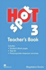 Hot Spot 3 Teacher's Book with Test CD