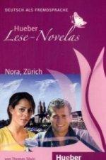 Hueber Hörbucher: Lese-Novelas (A1) Nora, Zürich, Leseheft