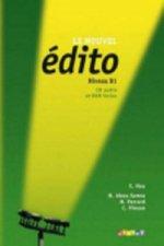 Le Nouvel Édito B1 UČ + CD + DVD