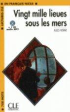 LECTURES CLE EN FRANCAIS FACILE NIVEAU 1: VING MILLE LIEUES SOUS LES MERS + CD MP3