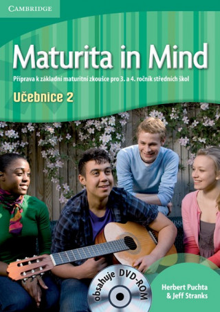 Maturita in Mind Level 2 Student's Book with DVD-Rom Czech Edition