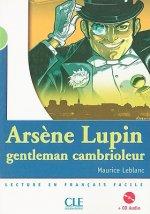 MISE EN SCENE 2 ARSENE LUPIN, GENTLEMAN CAMBRIOLEUR + CD audio