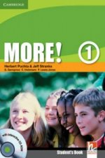MORE!1 STUDENTS BOOK+CD