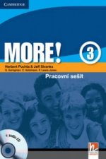 More! Level 3 Workbook with Audio CD Czech Edition