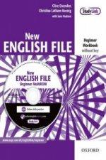 New English File: Beginner: Workbook with MultiROM Pack