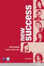 New Success Intermediate Teacher's Book & DVD-ROM Pack