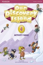 Our Discovery Island Level 4 Activity Book and CD ROM (Pupil) Pack