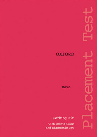 Oxford Placement Tests 1: Marking Kit