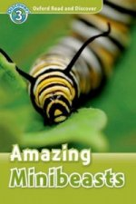 Oxford Read and Discover: Level 3: Amazing Minibeasts Audio CD Pack