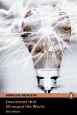 Penguin Readers 4 Inventions that Changed the World Book + MP3 audio CD