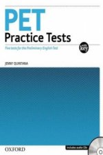 PET PRACTICE TESTS WITH ANSWER KEY and AUDIO CD PACK