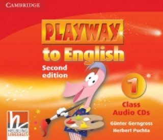 Playway to English Level 1 Class Audio CDs (3)