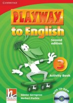 Playway to English Level 3 Activity Book with CD-ROM