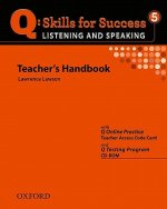 Q Skills for Success: Listening and Speaking 5: Teacher's Book with Testing Program CD-ROM