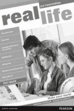 Real Life Global Pre-Intermediate Test Book & Test Audio CD Pack