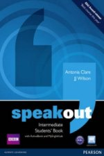 Speakout Intermediate Students' Book with DVD/active Book and MyLab Pack