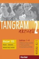 Tangram aktuell 2. Lektion 1-4 Glossar Deutsch-Tschechisch