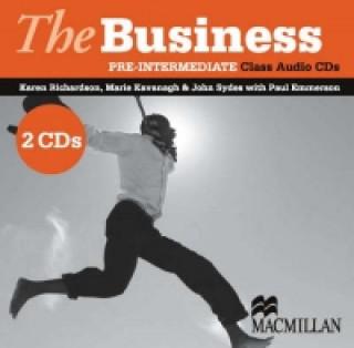 Business Pre-Intermediate Class Audio CDx2