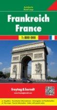 Automapa Francie 1:800 000
