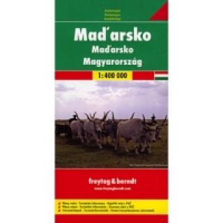Automapa Maďarsko 1:400 000