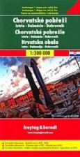 Automapa Chorvatské pobřeží 1:200 000