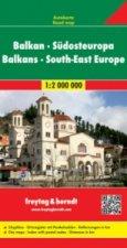 Automapa Balkán-JV Evropa 1:2 000 000
