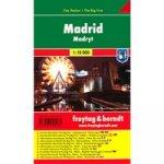 Plán města Madrid 1:10 000