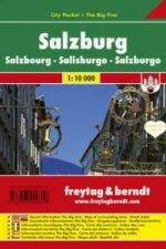 Plán města Salzburg 1:10 000