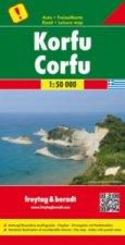 Automapa Korfu 1: 50 000