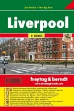 Plán města Liverpool 1:10 000