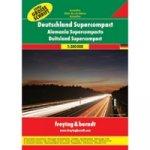 DSCAA SP Německo autoatlas superkompakt 1:300 000