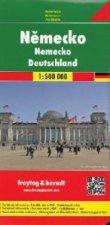 Automapa Německo 1:500 000