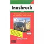 Plán města Innsbruck 1:10 000