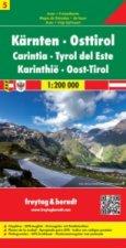 OE  5 Korutany Jižní Tyrolsko 1:200 T