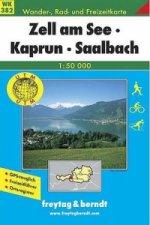 382 Zell am See, Kaprun, Saalbach 1:50 000