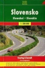 Slovensko, autoatlas 1:200 000, A5