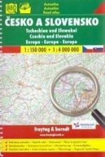Česko a Slovensko bez brýlí, atlas 1:150 000