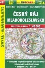 Český ráj, Mladoboleslavsko 1:40 000