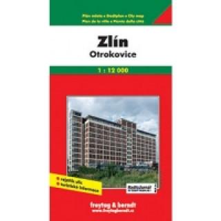 PL Zlín, Otrokovice 1:12 000