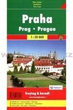 Praha, mapa 1:20 000