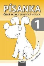 Písanka 1 Český jazyk 1 genetikcá metoda
